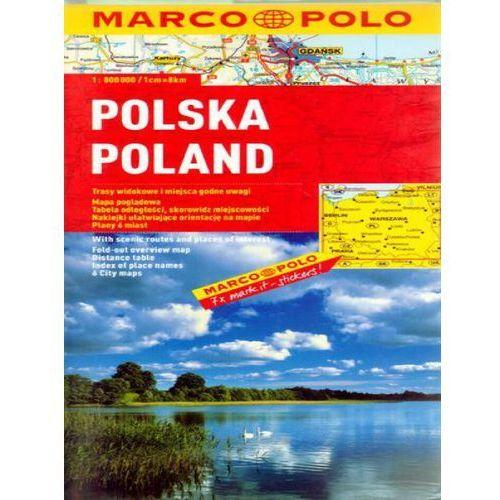 Polska. Mapa samochodowa