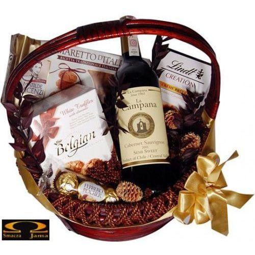 Smacza jama Kosz świąteczny kampania smakołyków (5902888420640)