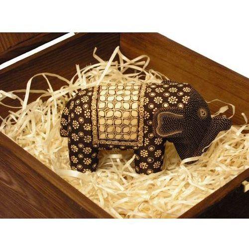 Nieskazitelny prezent rzeźba słoń władzy duży marki Wyspa java