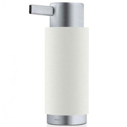 Dozownik do mydła w płynie ARA Blomus stal nierdzewna matowa + polystone biały