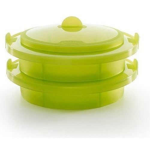 Garnek do gotowania na parze XXL Lekue zielony, 3400700V09U007