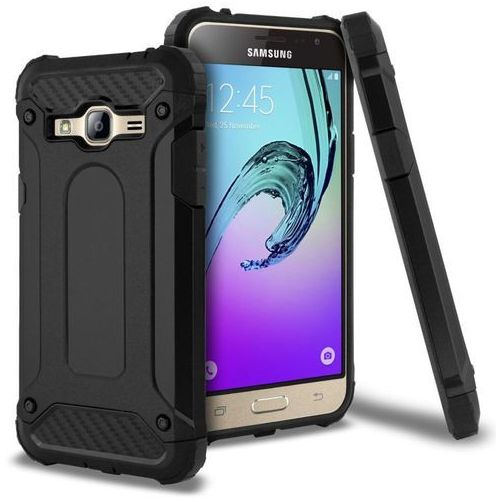 future armor black | obudowa dla samsung galaxy j3 2016 - black marki Tech-protect