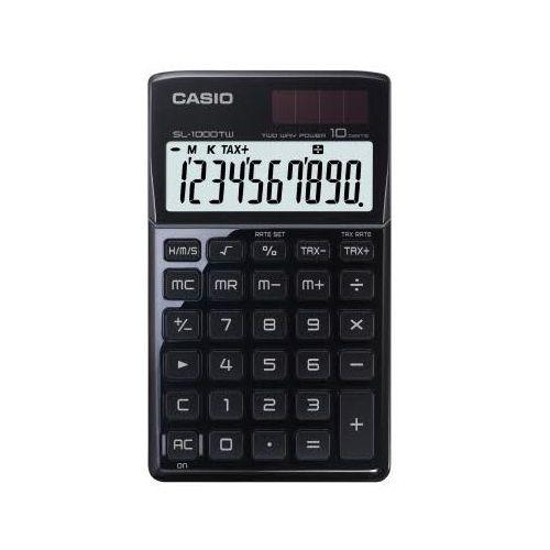 CASIO Kalkulator kieszonkowy SL-1000TW, czarny