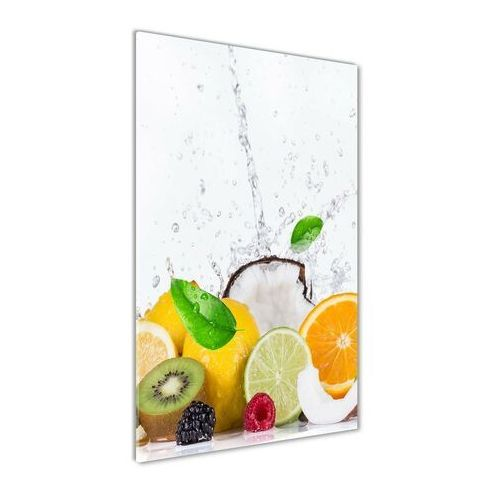 Nowoczesny foto-obraz akryl na ścianę Owoce