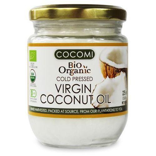OKAZJA - Olej kokosowy virgin bio 225 ml - cocomi marki Cocomi (wody kokosowe, oleje kokosowe, śmietanki)