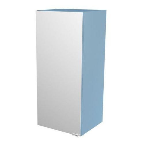 Goodhome Szafka z lustrem imandra 40 x 90 x 36 cm niebieska (3663602933588)