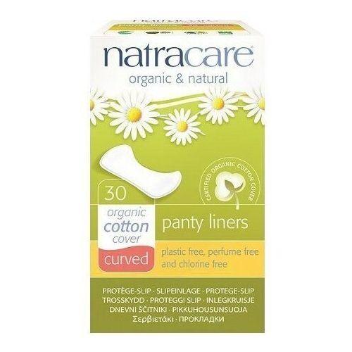 wkładki higieniczne curved (o zaokrąglonym kształcie) 30szt. marki Natracare