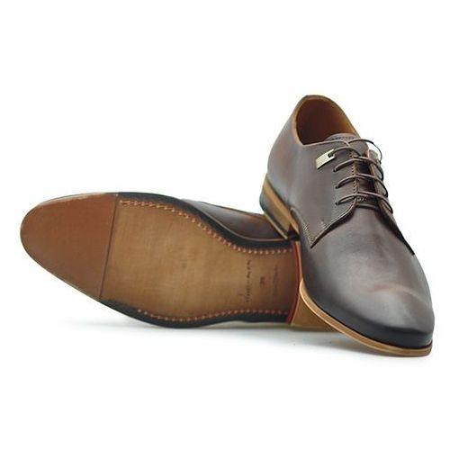 Pantofle Duo Men 220/N Brąz palony
