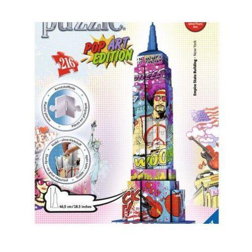 216 ELEMENTÓW 3D Empire State Building Pop Art (4005556125999)