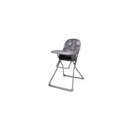 Krzesełko do karmienia flower 2016 grey szara marki 4baby