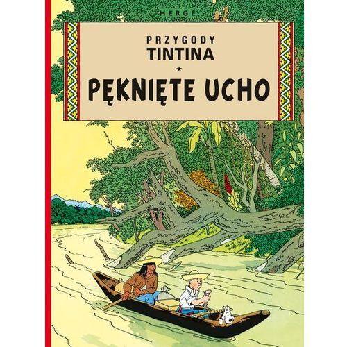 Pęknięte ucho Przygody Tintina Tom 6 - Egmont, Egmont