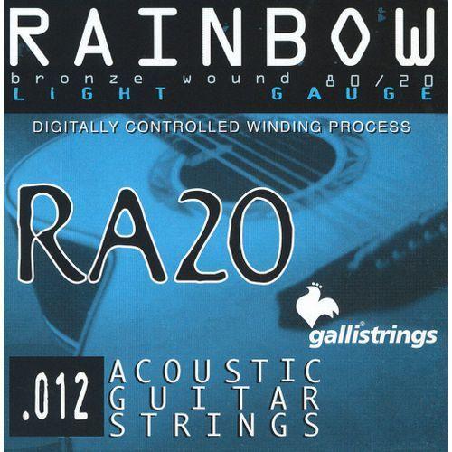 ra20 light - struny do gitary akustycznej marki Galli