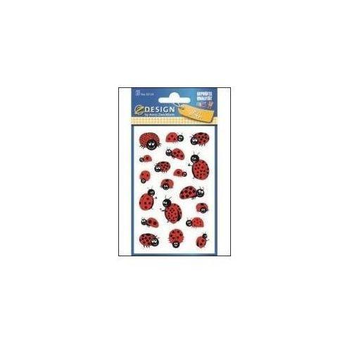 Naklejki papierowe - biedronki (4004182531341)