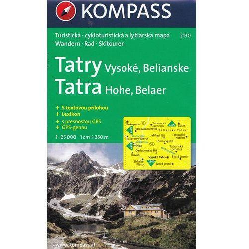 Tatra Hohe Belaer, 1:25 000