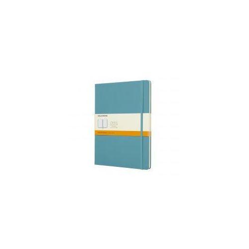 Moleskine Notatnik classic xl linie, twarda oprawa, błękitny