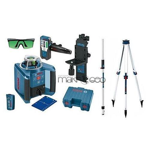 Niwelator laserowy BOSCH GRL 300 HVG RC 1 LRG1 laser zielony