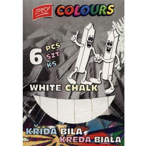 Kreda szkolna biała 6 sztuk. + zakładka do książki GRATIS (5901180304764)