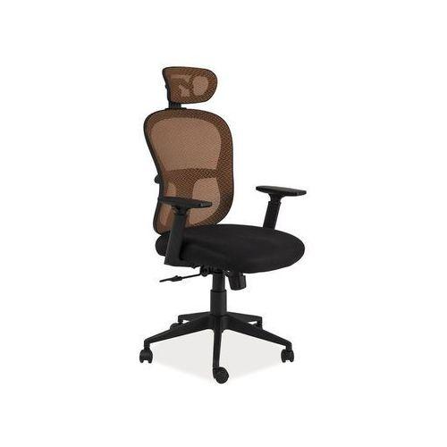 Fotel obrotowy, krzesło biurowe q-116 orange marki Signal