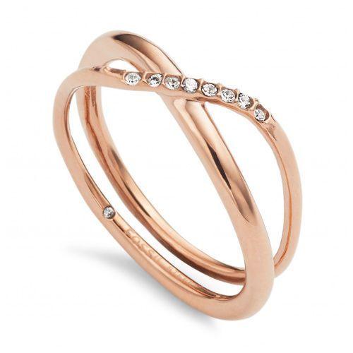 Biżuteria Fossil - Pierścionek JF02255791508 180 Rozmiar 17 - SALE -30%