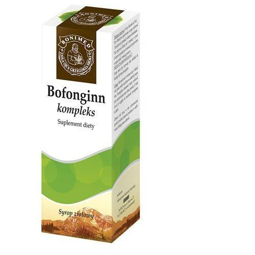 Bonimed Bofonginn Płyn ziołowy 300ml (5908252932313)