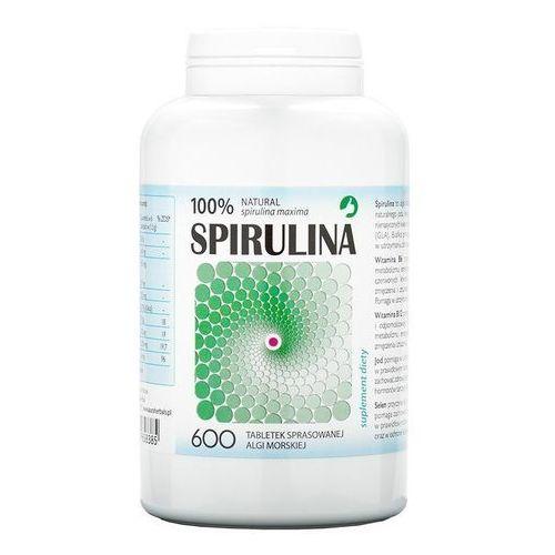Tabletki Spirulina maxima 250mg 600 tabl.