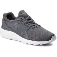 Asics Sneakersy - tiger gel-kayano trainer evo h707n carbon/carbon 9797