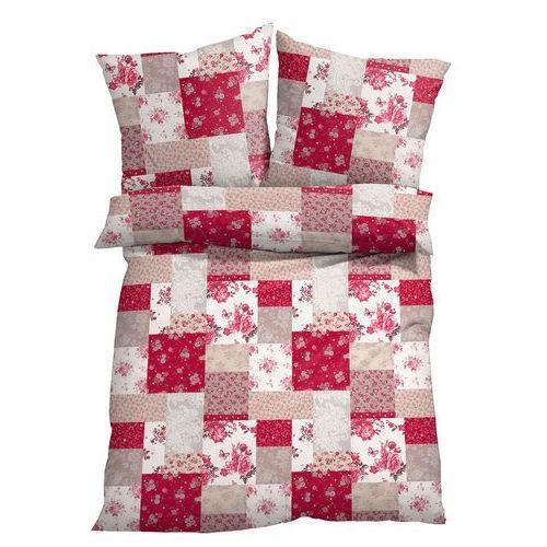 """Bonprix Pościel """"patchwork"""" czerwony"""