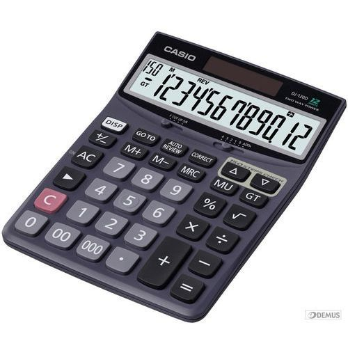 Kalkulator CASIO DJ-120D, towar z kategorii: Kalkulatory