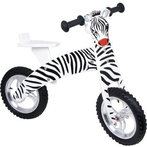 OKAZJA - Rowerek biegowy dla dzieci, zebra marki Small foot design