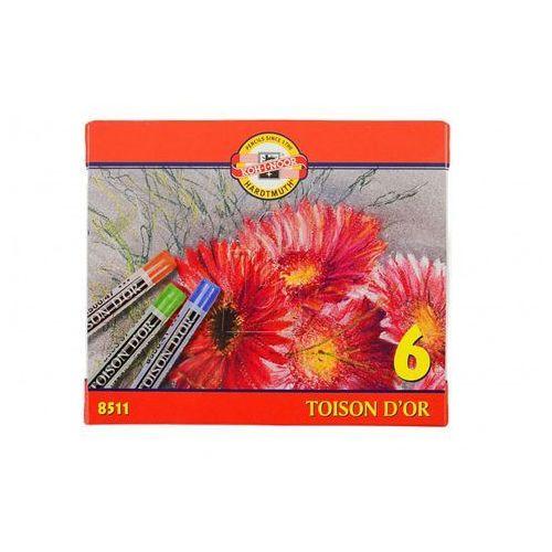 Kredki Pastele Toison D\'or 6 kolorów, kup u jednego z partnerów