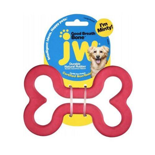 JW 12,5cm L Good Breath Bone zabawka miętowa dla psa