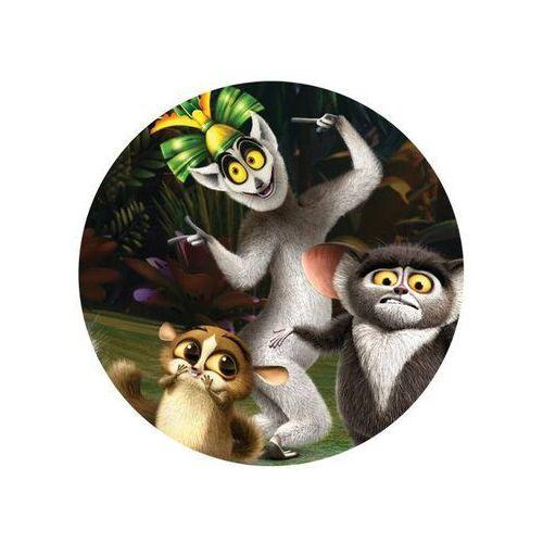 Modew Dekoracyjny opłatek tortowy pingwiny z madagaskaru - 20 cm