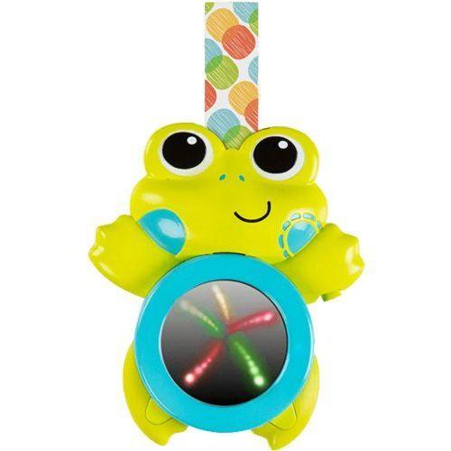 Bright starts  muzyczna żabka do zawieszenia ze światełkami 0m+
