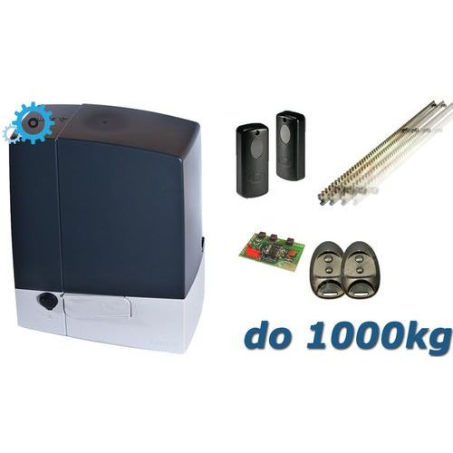Came zestaw bxv 10 safe (1000kg/24v) xl - 6mb listwy zębatej