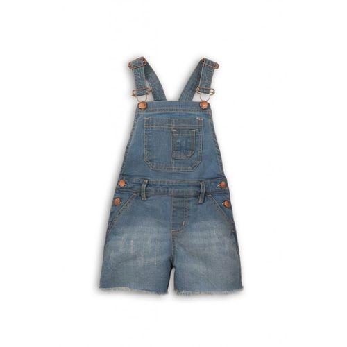 Minoti Ogrodniczki dziewczęce jeansowe 3n38a5