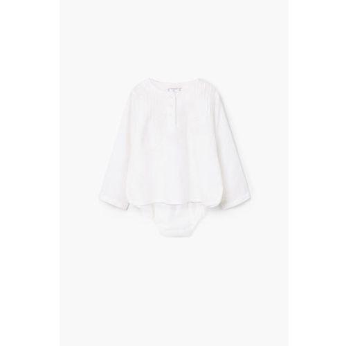 Mango kids  - komplet dziecięcy (bluzka + majtki) 62-80 cm