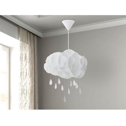 Lampa biała - sufitowa - żyrandol - lampa wisząca - AILENNE (7081458183128)
