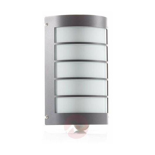 Lampa zewnętrzna z czujnikiem aqua marco z rastrem marki Cmd