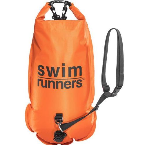 Swimrunners Piggybacking pomarańczowy/czarny 2018 Akcesoria pływackie i treningowe