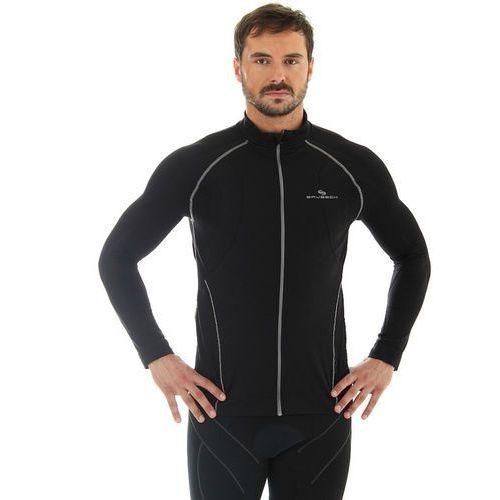 ls11060 - męska bluza wiatroszczelna (czarny) marki Brubeck