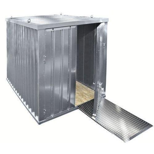 Kontener izolowany, ocynkowany, z podłogą z drewna, szer. zewn. 2100 mm. dostarc marki Bos