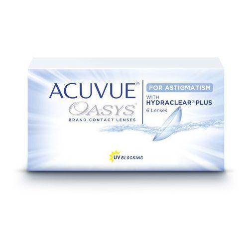 Acuvue oasys for astigmatism marki Johnson & johnson. Tanie oferty ze sklepów i opinie.