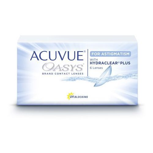 Acuvue oasys for astigmatism od producenta Johnson & johnson