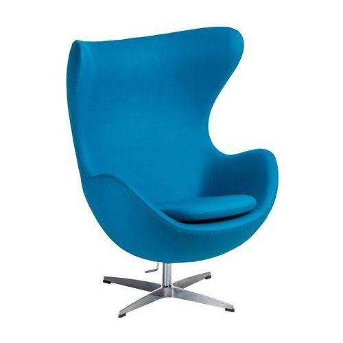 D2design Fotel jajo kaszmir niebieski jasny 43 premium (5902385727921)