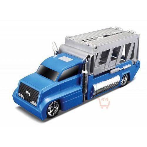 MAISTO Burnin' Key Cars Ciężarówka + autko Nite Crawler