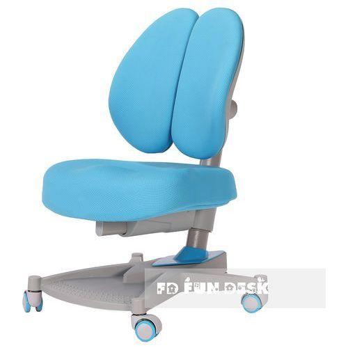 Fundesk Contento blue - ergonomiczne krzesełko z regulacją wysokości - złap rabat: kod50