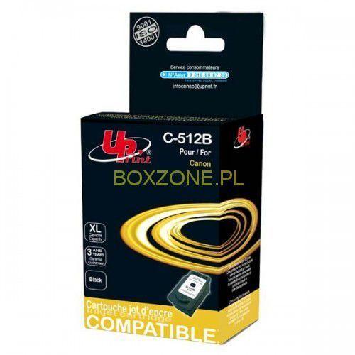 UPrint kompatybilny ink z PG512BK, black, 18ml, C-512B, dla Canon MP240, 260, 480