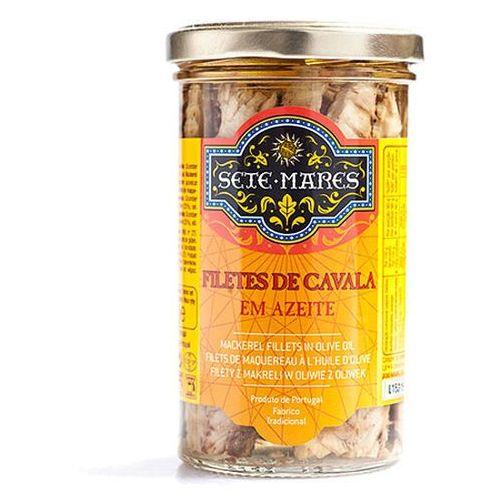 Filety z makreli w oliwie z oliwek 250g Sete Mares