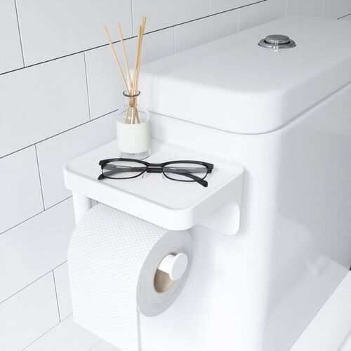 Umbra - uchwyt na papier toaletowy z półką, flex, sure-lock