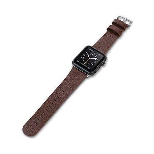 X-Doria Lux Band - Skórzany pasek do Apple Watch 42mm (brązowy), 439671